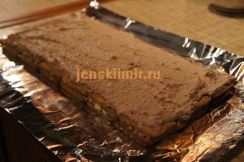 торты рецепты с пече с фото