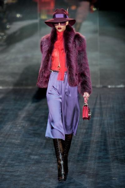 gucci мода осень-зима 2011-2012