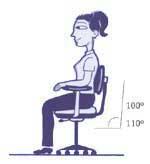 стул для работы за компьютером