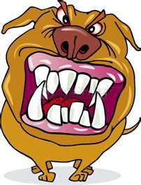 саблезубый пёс