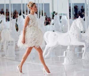 Louis Vuitton весна -лето 2012 Кейт Моосс