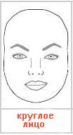 круглое лицо