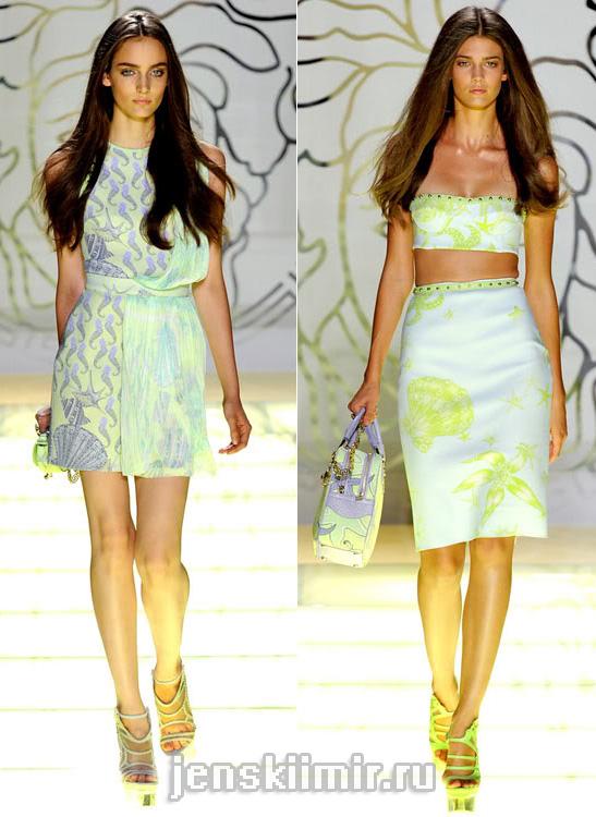 мода лето 2012 VERSACE-7