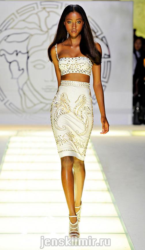 Тенденции моды весна-лето 2012 от Версаче | Женский мир Elvi