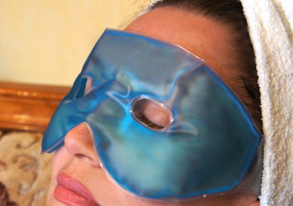 гелевая маска для глаз
