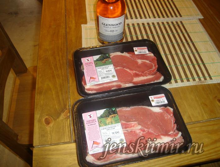 мясо для шницеля