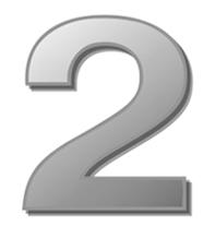 цифра - 2