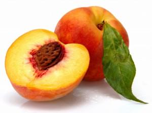 половинка персика