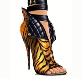 ботиночки 2013 животный принт