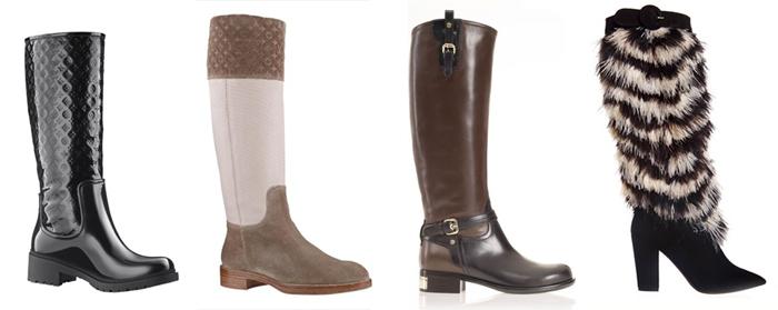 обувь 2013 - женские сапоги