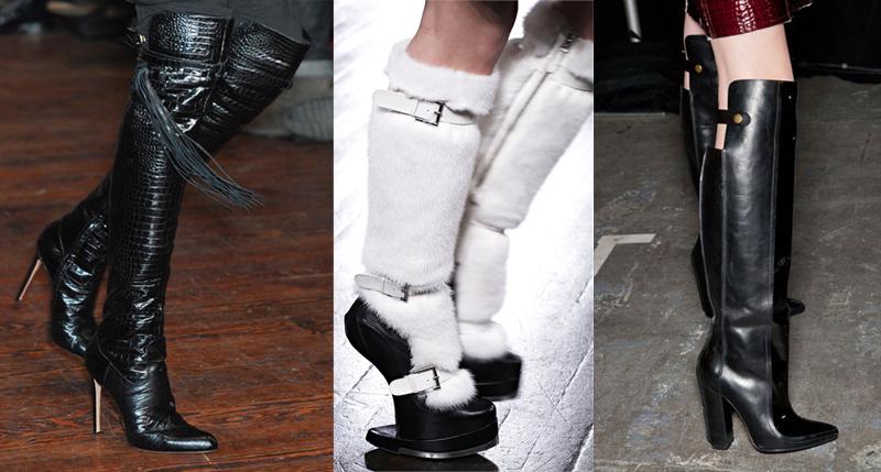 обувь - зима 2013