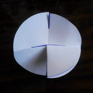 схема создания снежинок из бумаги 2