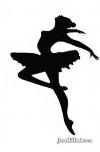 бумажная снежинка-балерина-1