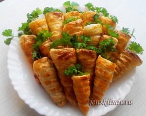 оригинальные пирожки - морковки