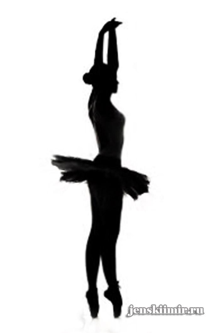 Балерины из бумаги шаблоны