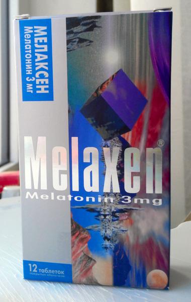 мелатонин мелаксен
