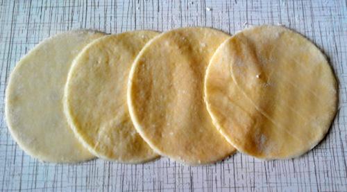 пошаговое приготовление печенья из творога