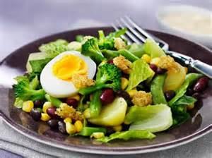 брокколи в салате