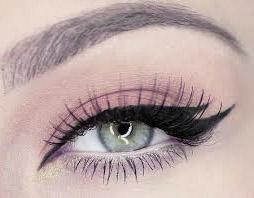макияж глаз двойные стрелки
