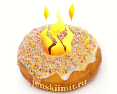 пончик сжигаем калории