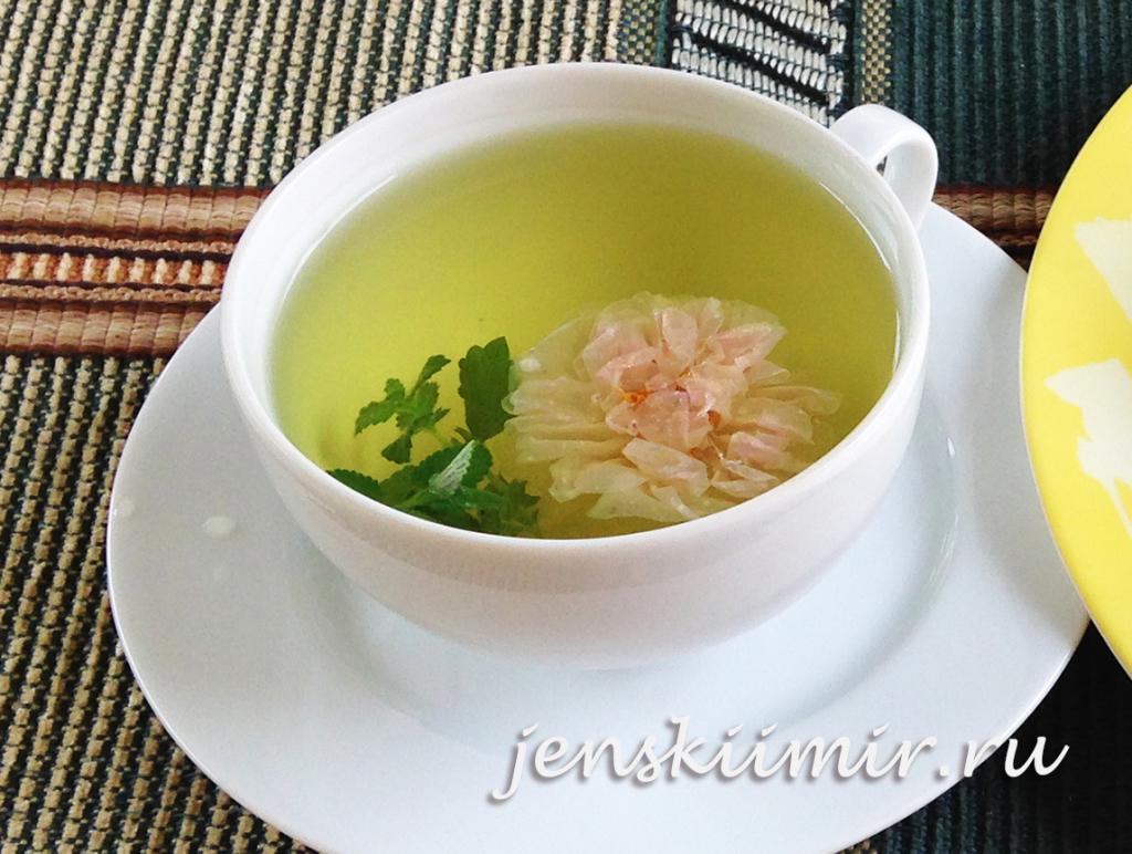 чай из чайной розы11