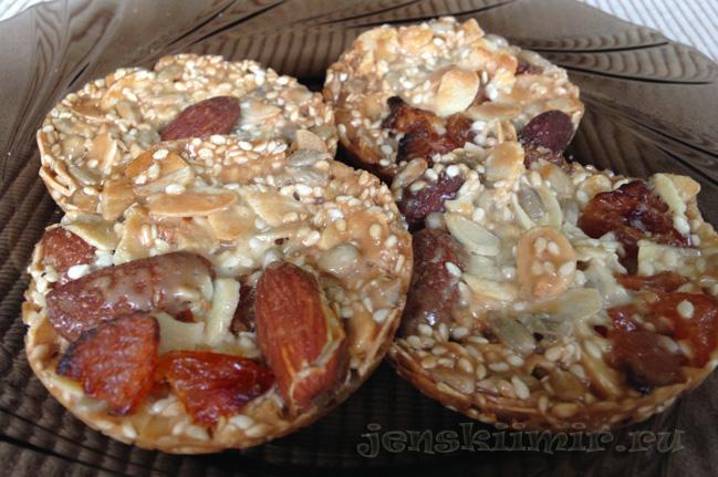флорентин печенье с миндалем